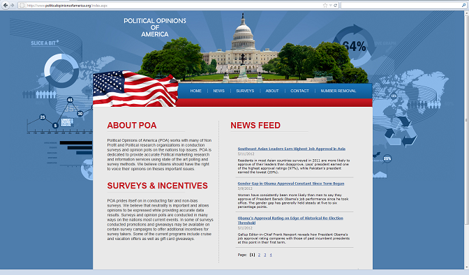 web page  - 20120514AG POOA resize - Free cruise phone scam masquerades as political survey