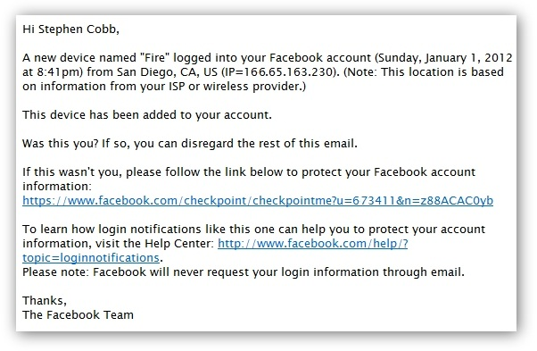 How to improve Facebook account protection with Login