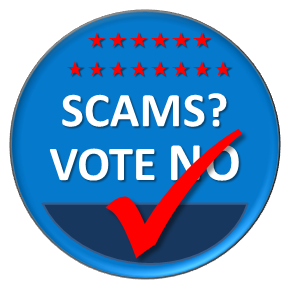 Avoid election season scams