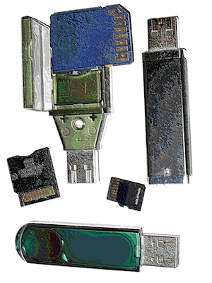 USB flash drive security