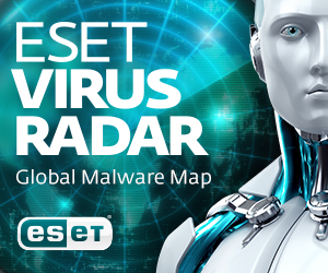ESET Virus Radar