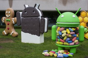 Android at Google's HQ (Rex)