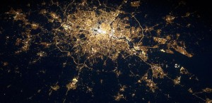 London at night (Rex)