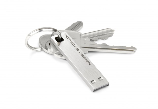 """Supercar security? Porsche and Lacie unveil """"ultra-secure"""" encrypted USB stick"""