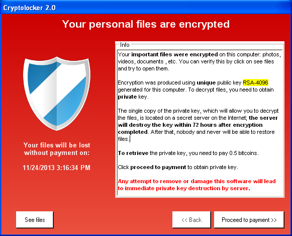 Cryptolocker 2 0 – new version, or copycat? | WeLiveSecurity
