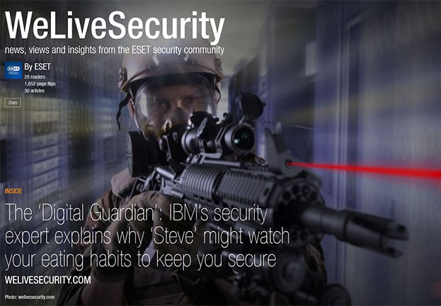 Flipboard: A new way to enjoy We Live Security on the move