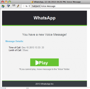 WhatsApp Phish