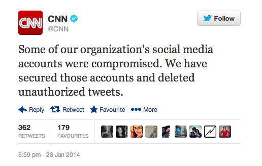 CNN tweets apology