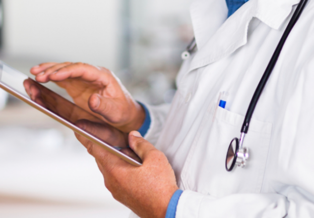 How can doctors practice better health information security?