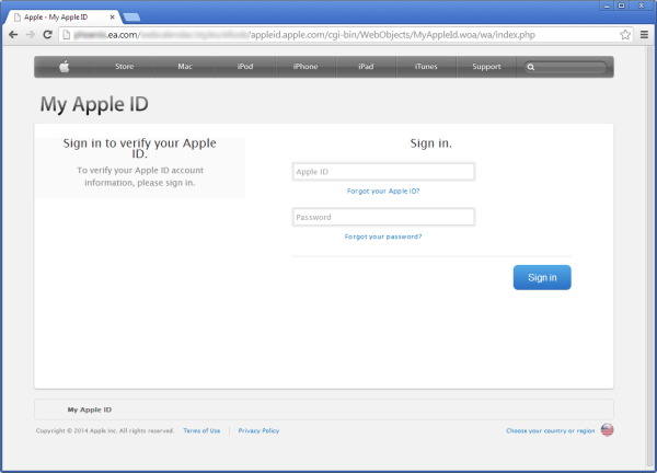 servidor-EA-games-comprometido-apple-ID-phishing