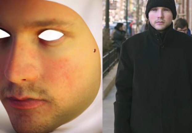 "Rubber ""anti-ID"" mask foils spy-cams by turning us all into clones"
