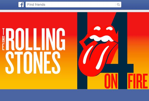 Rolling Stones 14 On Fire Free Tickets Giveaway? It's a Facebook scam
