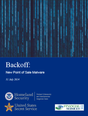 Backoff - New Point of Sale Malware