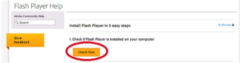 FLASH 1  - FLASH 1 - How to update Adobe Flash Player