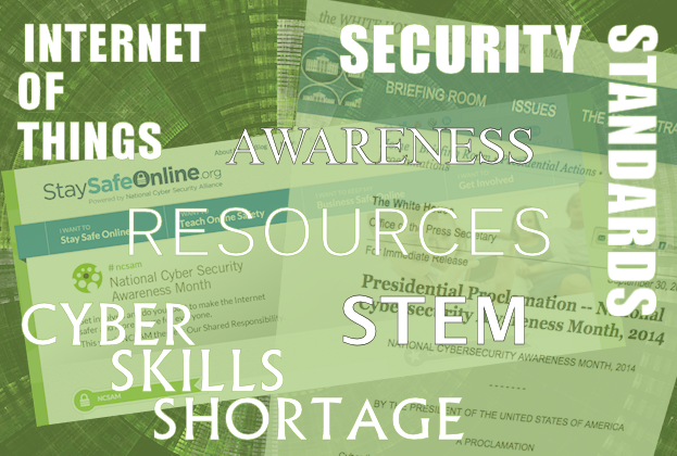 Top Cyber Security Awareness Month themes, topics, and resources