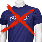 No Yahoo t-shirt