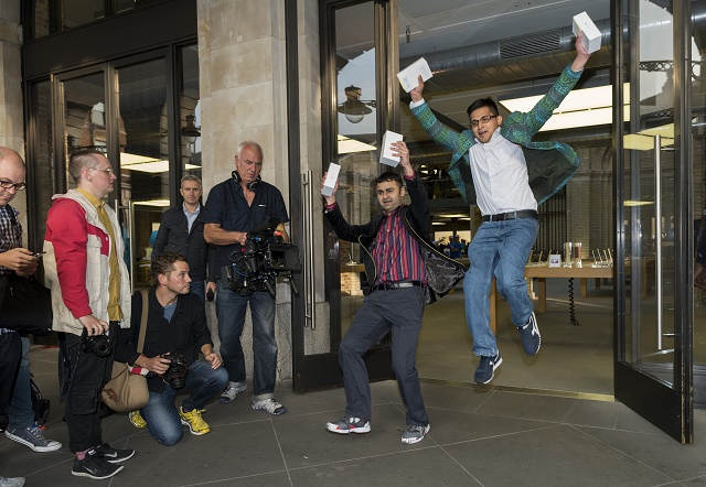 Apple iPhone 6 Launch, London, Britain - 19 Sep 2014