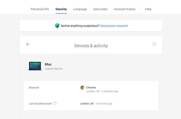 Google now lets you disconnect devices that looks 'suspicious'