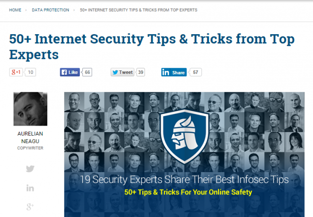 Heimdal blog, 19 Experts, 50+ Security Tips