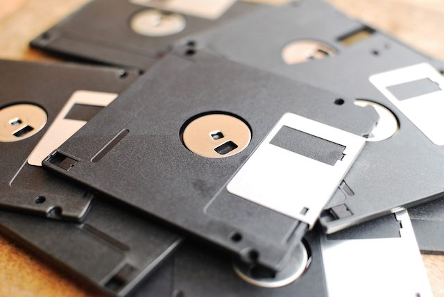 In the early days of malware, floppy disks were the main means of distribution.  - floppy disk malware - How did the Internet change the everyday work of a security researcher?