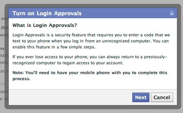 Facebook Login Approvals