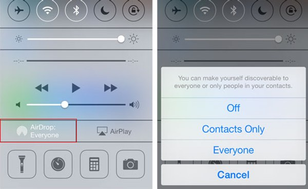 Airdrop settings  - airdrop settings - How to stop pervy pics popping up on your iPhone