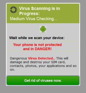 android popup 2  - android popup 2 278x300 - Tech Support Scams: Top of the Pop-Ups