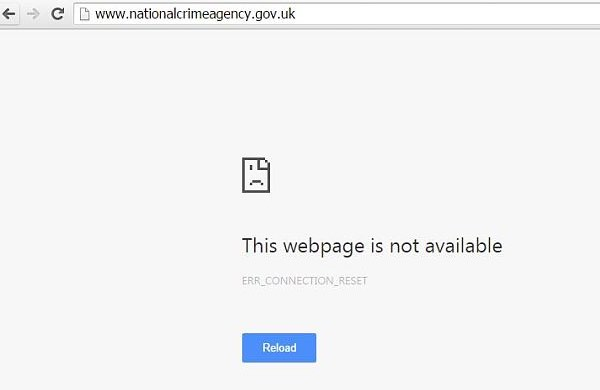 NCA website down