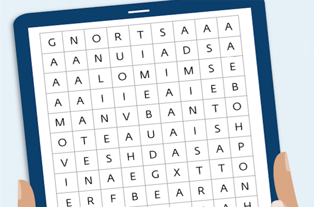 Securing devices at Christmas: Wordsearch