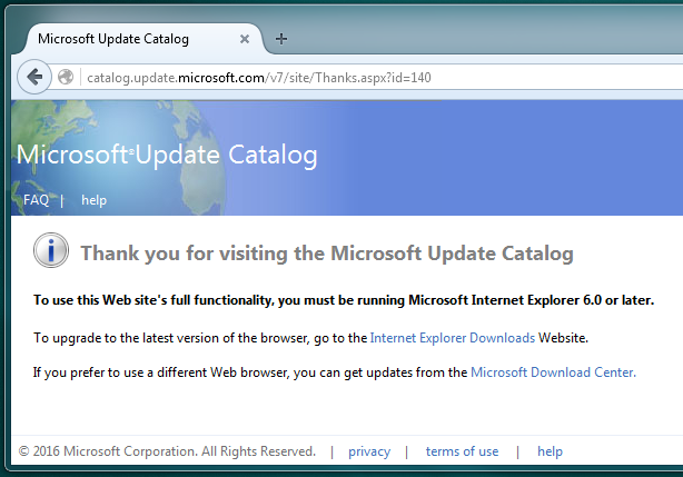 Microsoft ends support for old Internet Explorer versions