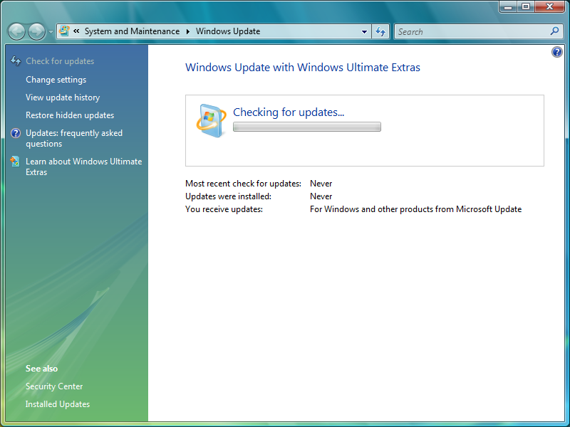 upgrade from vista to win7