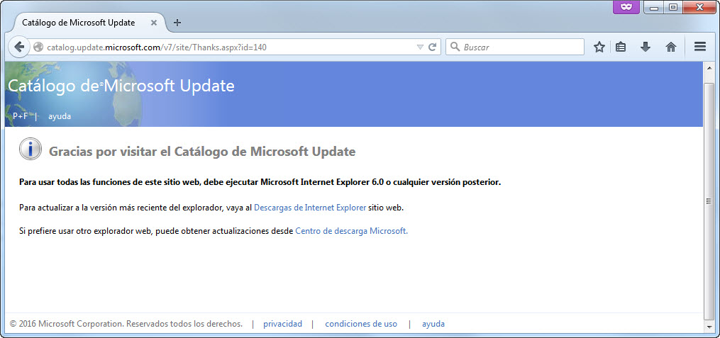 catalogo-microsoft-update