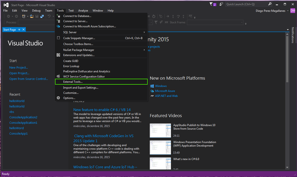 visual studio_tools