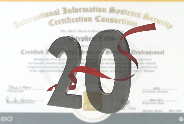 What the CISSP? 20 years as a Certified Information Systems Security Professional
