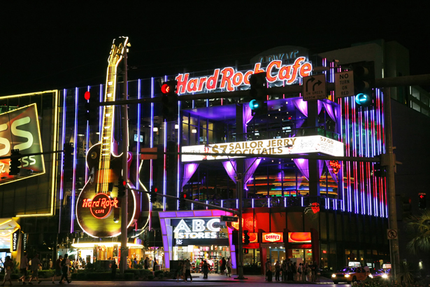 The Hard Rock Cafe Las Vegas