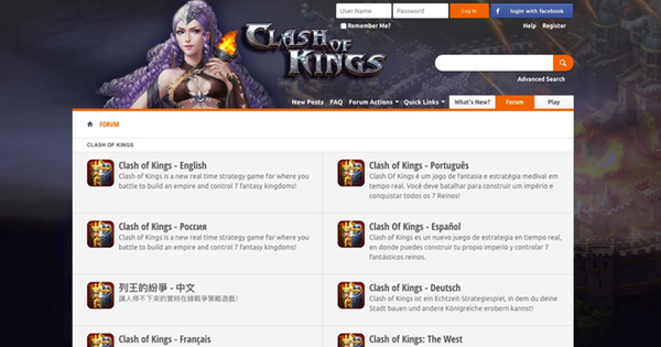 Clash of Kings forum
