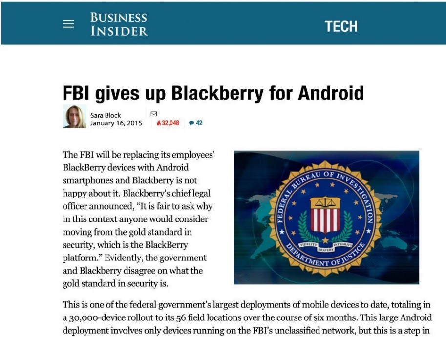 fbi blackberry android