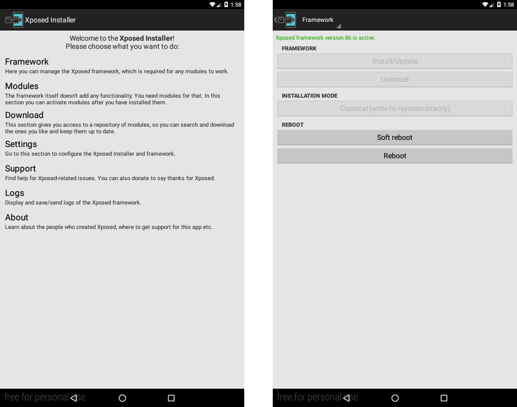Xposed Installer Android