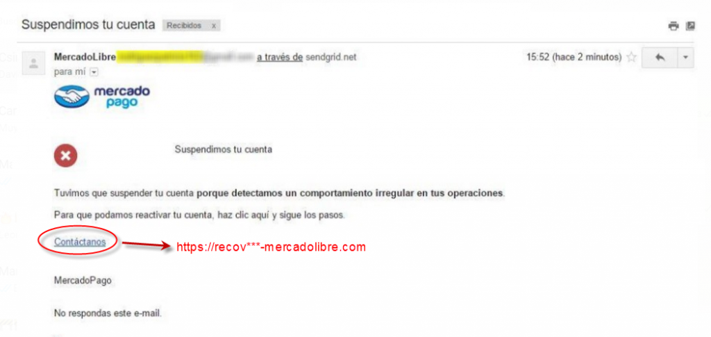 phishing mercado libre