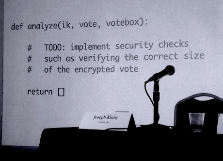 election hacking US election  - voting code est - 2016 US presidential election edition