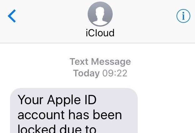 O golpe por SMS que rouba ID Apple evoluiu para capturar mais vítimas