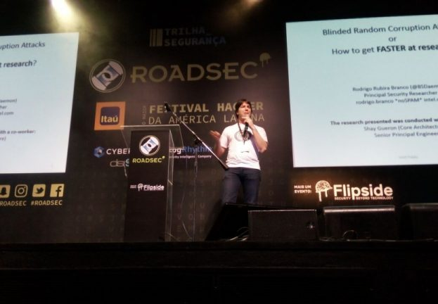 """Blinded Random Block Corruption Attacks"" foi tema no Roadsec"