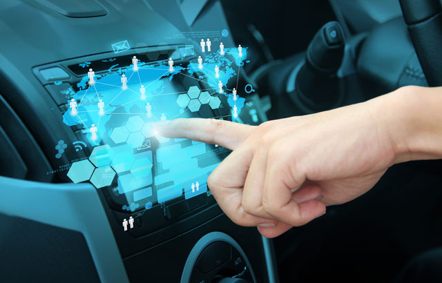 CES – singularity and securing the car