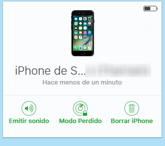 snap opciones find my iphone