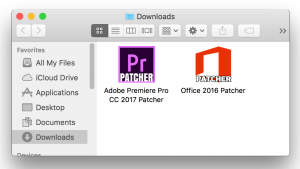 Adobe CC 2017 Patcher OSX Ransomware