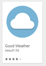- good weather - Malicious weather app found on Google Play