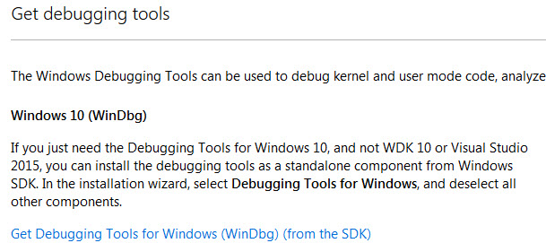 How to configure WinDbg for kernel debugging | WeLiveSecurity