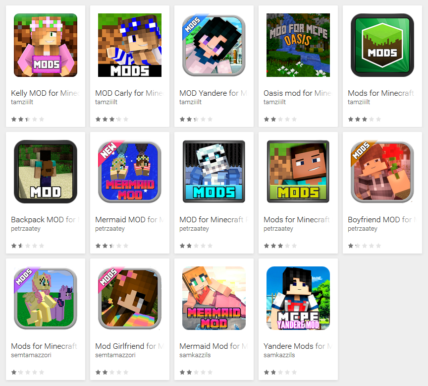 If you download Minecraft mods from Google Play, read on