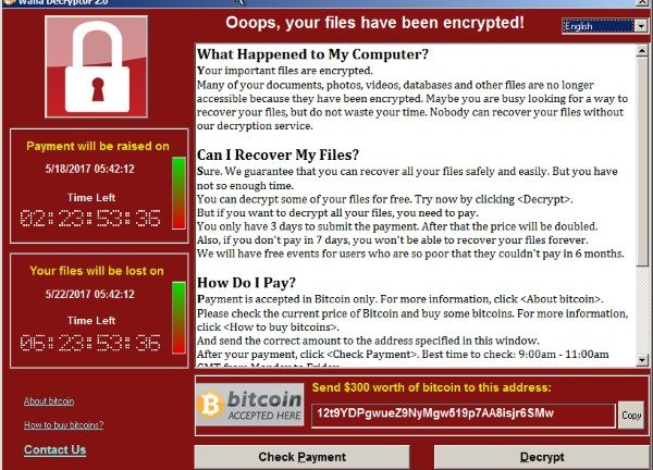 WannaCryptor: Are governments and financial regulators to blame?