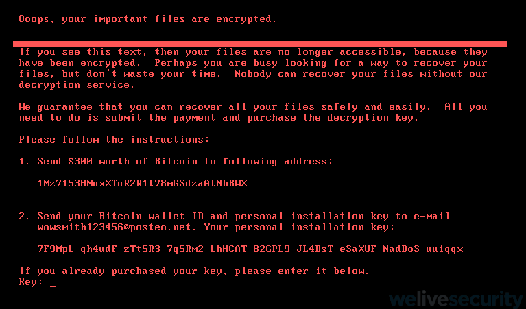 Everything you need to know about the latest variant of Petya